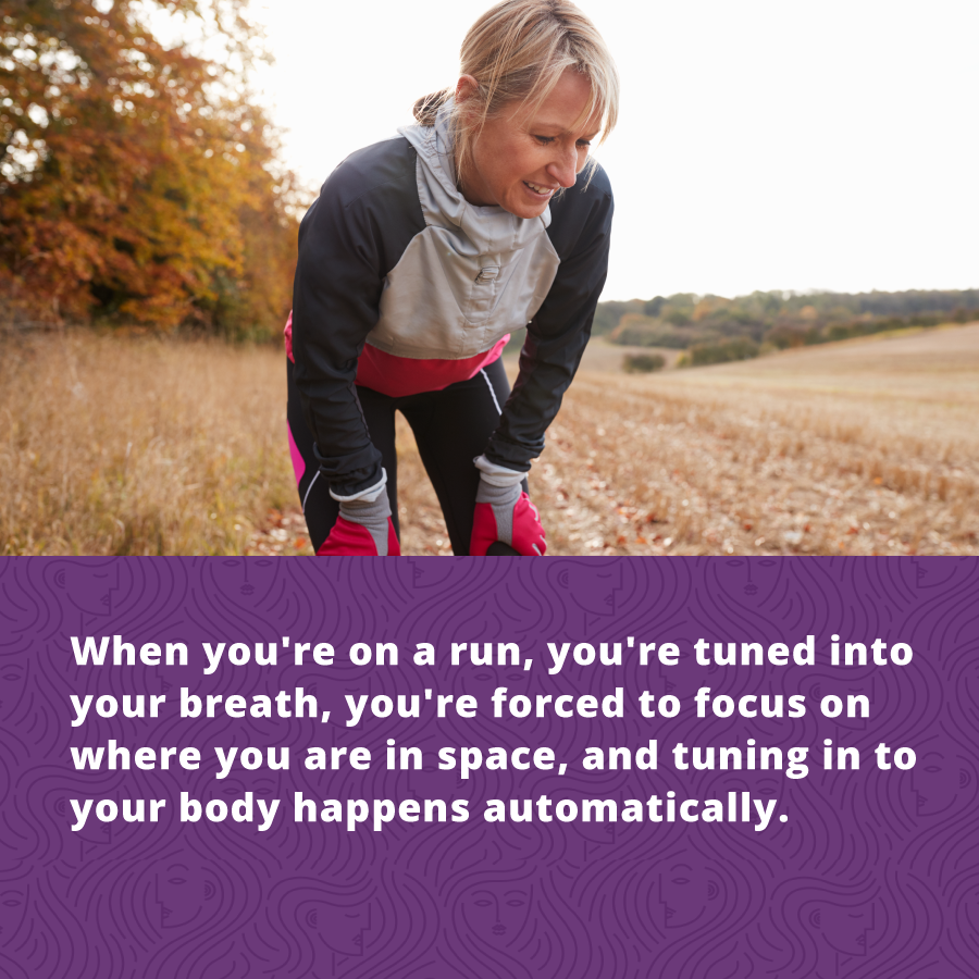 Women's Fitness is crucial as we age, running can help relieve stress and reduce bone loss as we age.