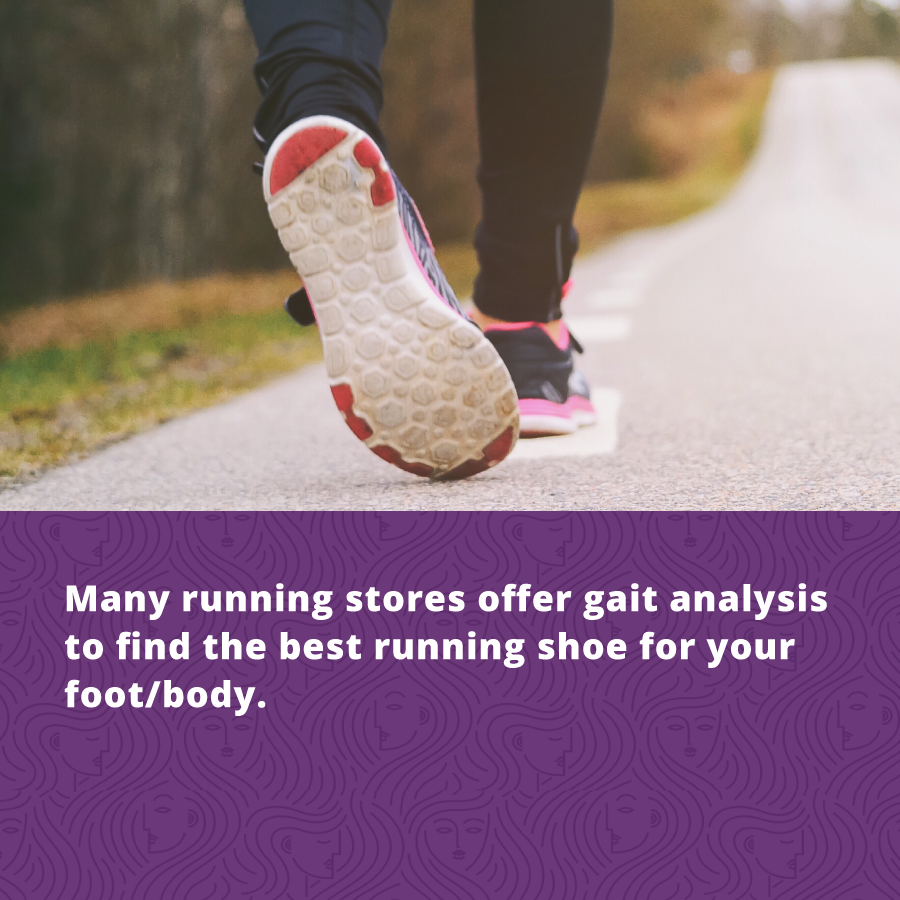 Running for Women's Fitness Find the Right Shoes