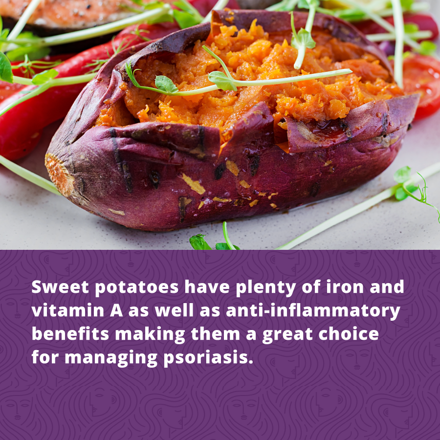 Sweet postatoes are packed with vitamin A and Iron making them one of fall's best Holistic Health Superfoods