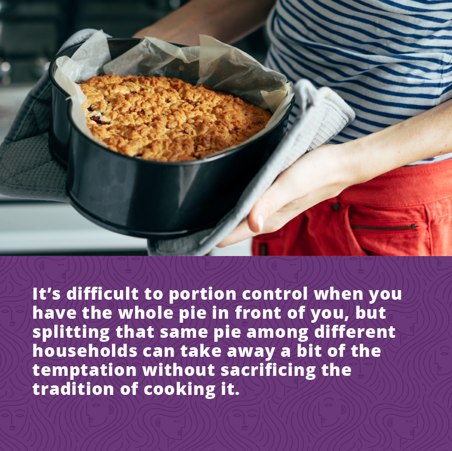 Portion Control and Giving Away Sweet Dishes can help control Women's Diabetes:
