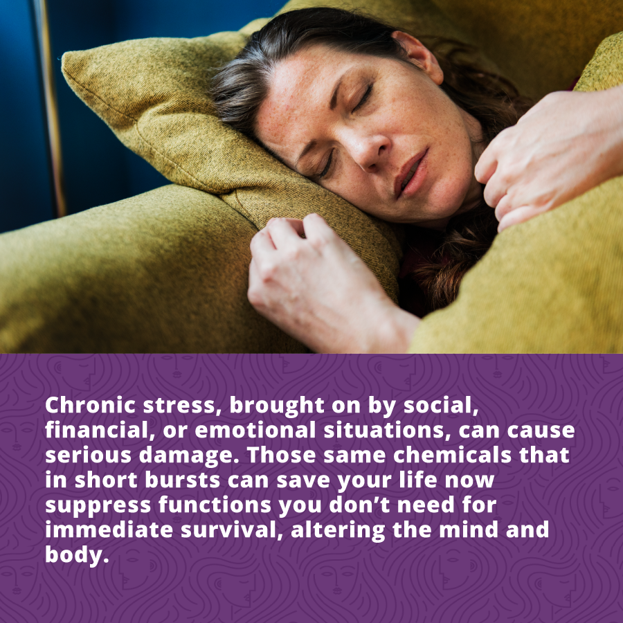How Stress Affects Women's Health - cronic stress can cause serious damage to your health