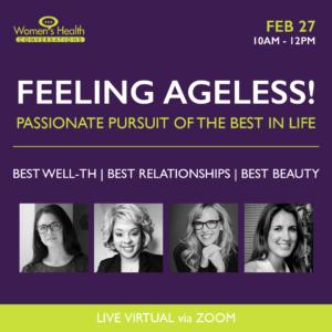 Women's Health Conversations Feeling Ageless Summit