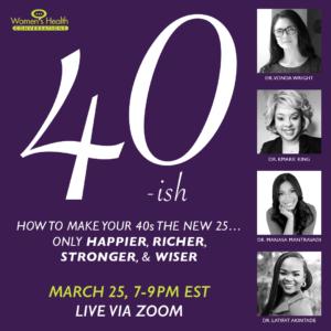 40 ish Summit Women's Health Conversations