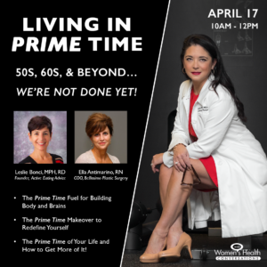 Women's Health Conversations Living In Prime Time Summit
